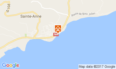 Mappa Sainte Anne (Guadalupa) Appartamento 73124