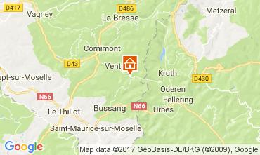 Mappa Ventron Chalet 112488