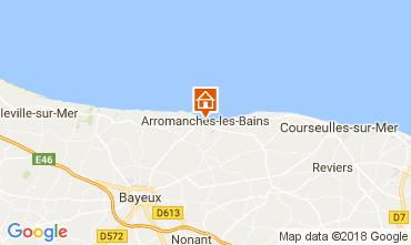 Mappa Arromanches Agriturismo 113148