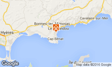 Mappa Bormes Les Mimosas Appartamento 102267