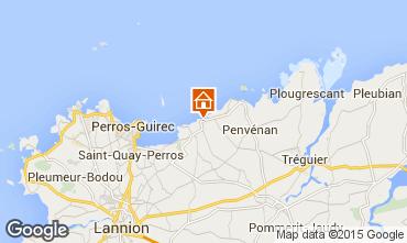 Mappa Perros-Guirec Appartamento 77591