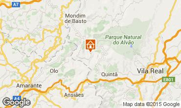 Mappa Mondim de Basto Agriturismo 84160