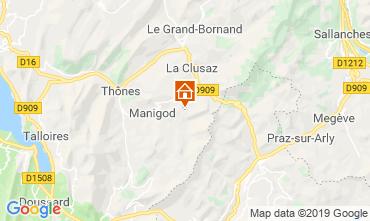 Mappa Manigod-Croix Fry/L'étale-Merdassier Appartamento 116760