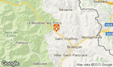 Mappa Serre Chevalier Chalet 15369