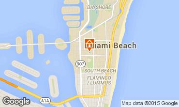 Mappa Miami Beach Appartamento 5336
