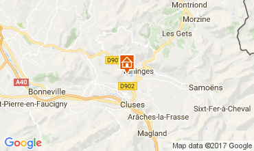 Mappa Les Gets Chalet 66905
