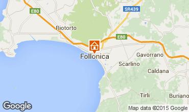 Mappa Follonica Appartamento 80818