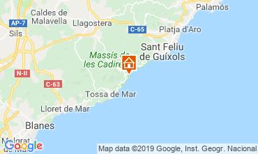 Mappa Tossa de Mar Appartamento 112430