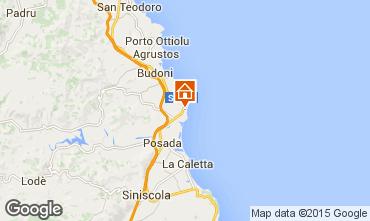 Mappa Budoni Appartamento 43685