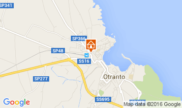 Mappa Otranto Appartamento 42943