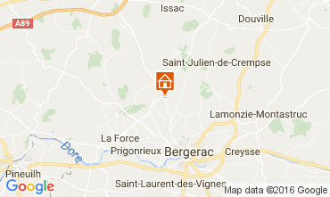 Mappa Bergerac Agriturismo 106775