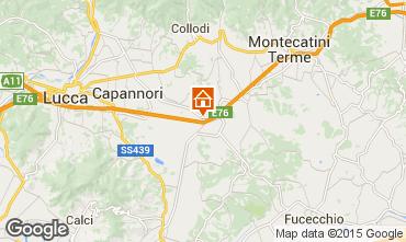 Mappa Lucca Villa  100897