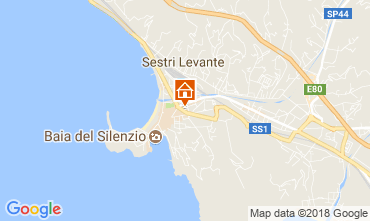 Mappa Sestri Levante Appartamento 113802