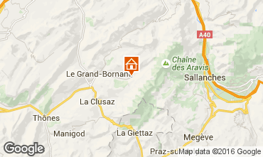 Mappa Le Grand Bornand Chalet 66538