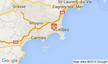 Mappa Juan les Pins Appartamento 104068
