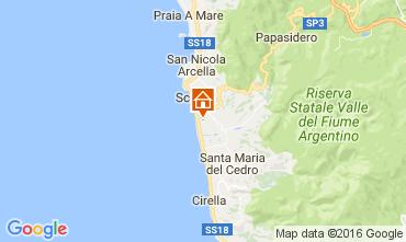 Mappa Scalea Appartamento 106960