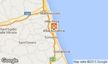 Mappa Alba Adriatica Appartamento 64221