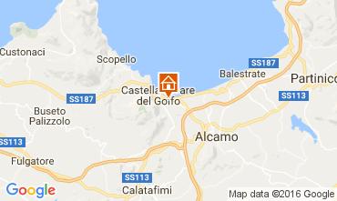 Mappa Castellammare del Golfo Casa 67481