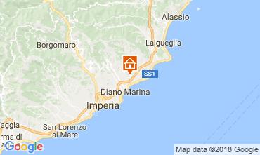 Mappa Cervo Villa  112684