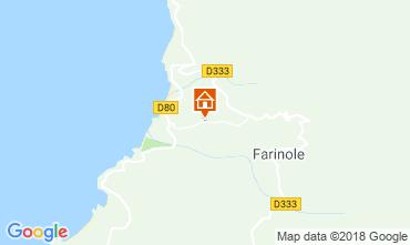 Mappa Saint Florent Villa  116836