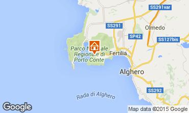 Mappa Alghero Appartamento 78936