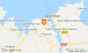 Mappa Dinard Appartamento 103782
