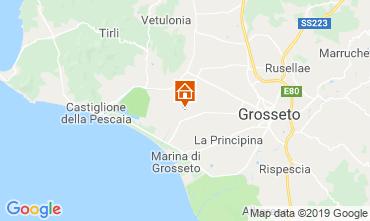 Mappa Castiglione della Pescaia Appartamento 94322