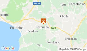 Mappa Gavorrano Agriturismo 80622