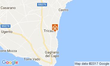 Mappa Tricase Villa  87119