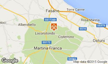 Mappa Locorotondo Alloggio insolito 81959