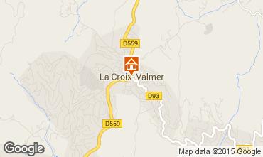 Mappa La Croix Valmer Appartamento 10280