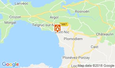 Mappa Crozon Casa 117397
