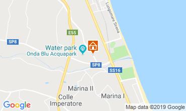 Mappa Tortoreto Appartamento 119599