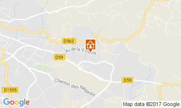 Mappa Draguignan Villa  111531