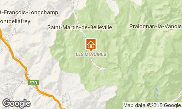 Mappa Les Menuires Appartamento 76105