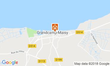 Mappa Grandcamp-Maisy Agriturismo 103351
