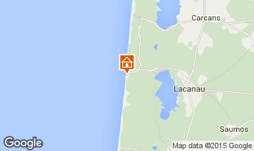 Mappa Lacanau Monolocale 86706