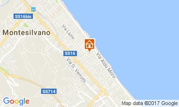 Mappa Montesilvano Marina Appartamento 47620