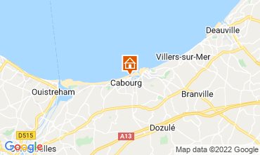 Mappa Cabourg Appartamento 10782