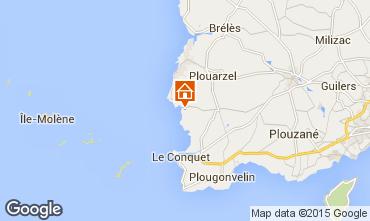 Mappa Le Conquet Casa 34742