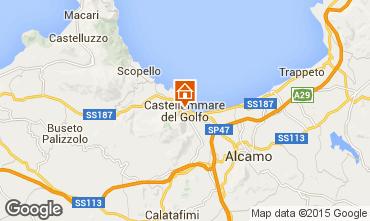 Mappa Castellammare del Golfo Appartamento 49143