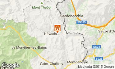 Mappa Névache Monolocale 59659