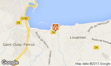 Mappa Perros-Guirec Casa mobile 7433