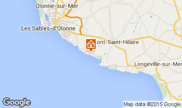 Mappa Talmont-Saint-Hilaire Appartamento 7129