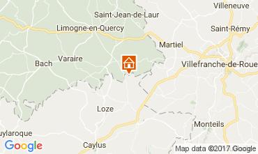 Mappa Saint-Cirq-Lapopie Agriturismo 51135