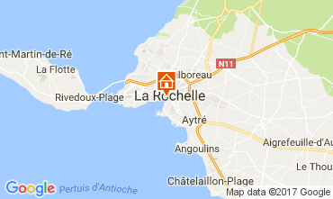 Mappa La Rochelle Monolocale 109211