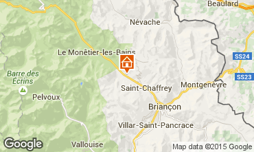 Mappa Serre Chevalier Appartamento 2861