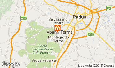 Mappa Abano Terme Appartamento 60859