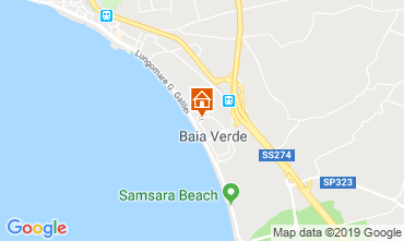 Mappa Gallipoli Villa  117642