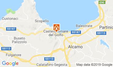 Mappa Castellammare del Golfo Casa 118269